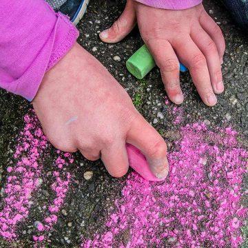 Kreide malen für Kinder in Mülheim